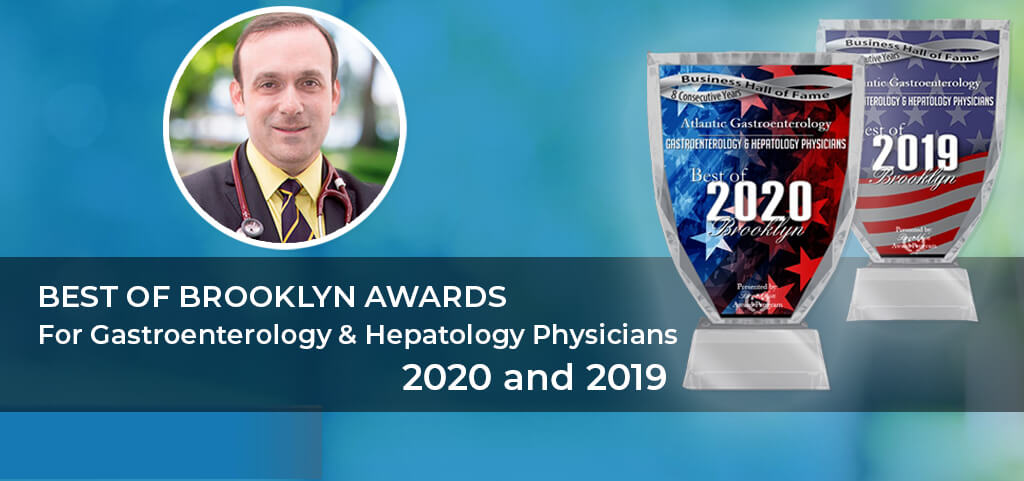 Dr. Alexander Shapsis -Best of Brooklyn Awards For Gastroenterology & Hepatology Physicians 2020 and 2019