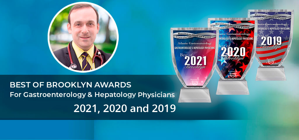 Dr. Alexander Shapsis -Best of Brooklyn Awards For Gastroenterology & Hepatology Physicians 2021, 2020 and 2019