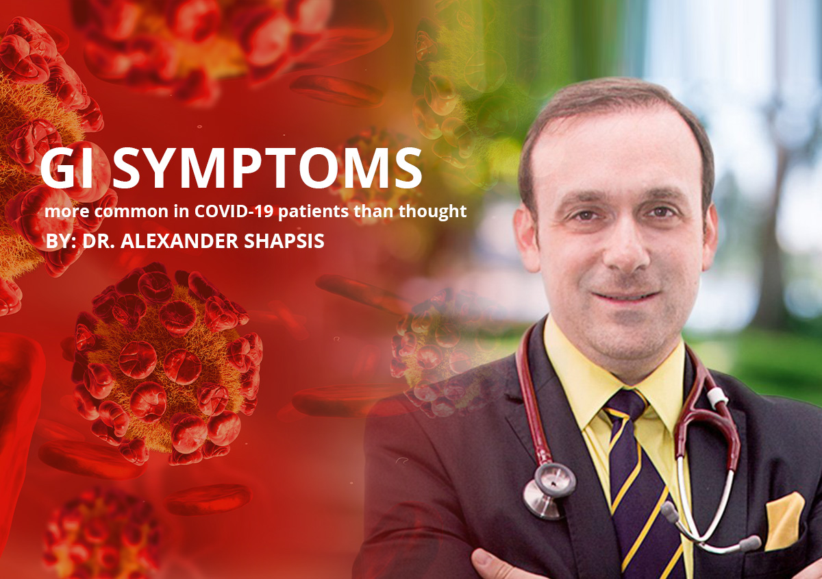 GI symptoms more common in COVID-19 patients than thought